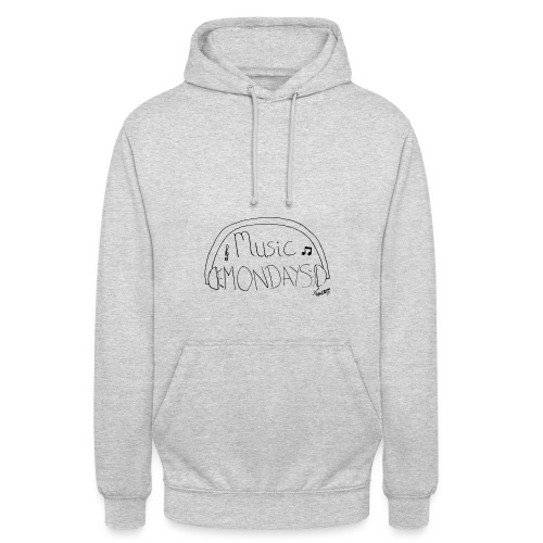 Music modays logo png - Unisex Hoodie