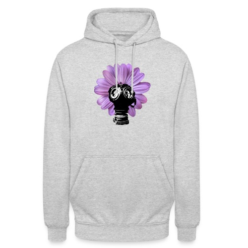 FleurMasque - Sweat-shirt à capuche unisexe