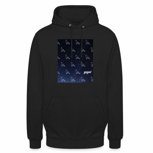 pigeonarmay in space - Unisex Hoodie