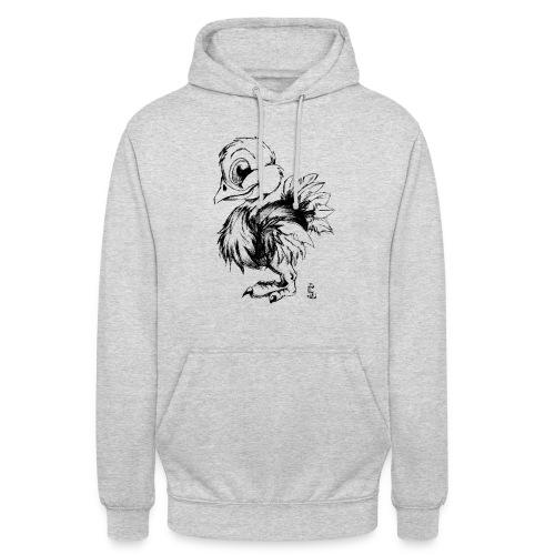 Autruchon - Sweat-shirt à capuche unisexe
