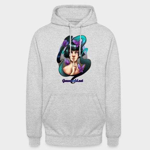 Geneworld - Papillons - Sweat-shirt à capuche unisexe