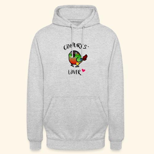 Conures' Lover: opaline - Sweat-shirt à capuche unisexe
