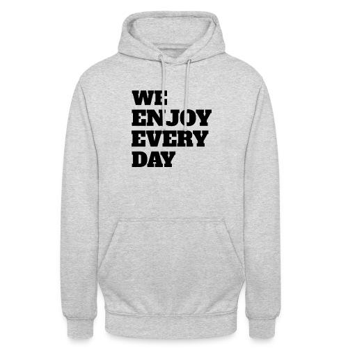 Enjoy - Sweat-shirt à capuche unisexe