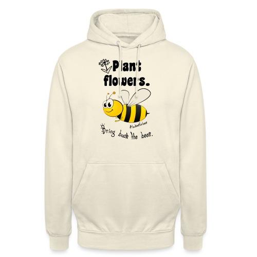 Bees8-1 Bringt die Bienen zurück!   Bookrebels - Unisex Hoodie