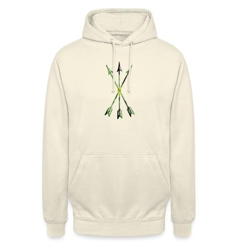 Scoia tael emblem green yellow black - Unisex Hoodie