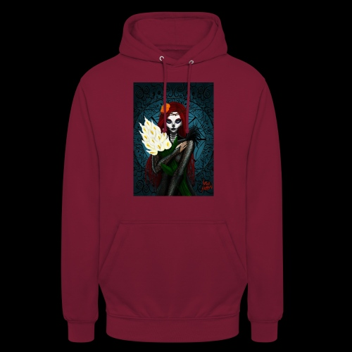 Death and lillies - Unisex Hoodie