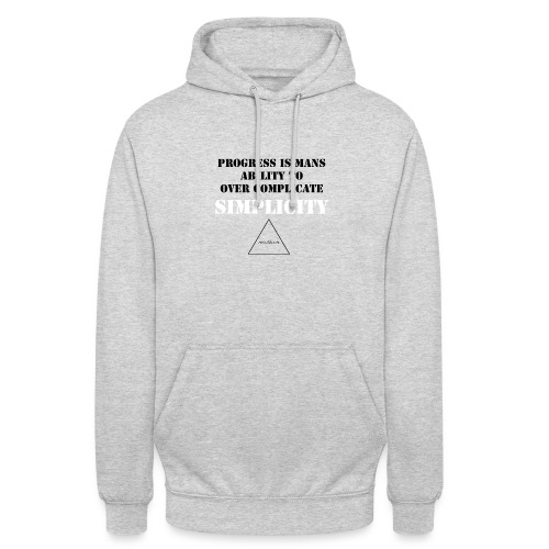 over complecate - Unisex Hoodie