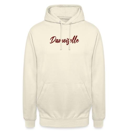 Damoiselle - Sweat-shirt à capuche unisexe