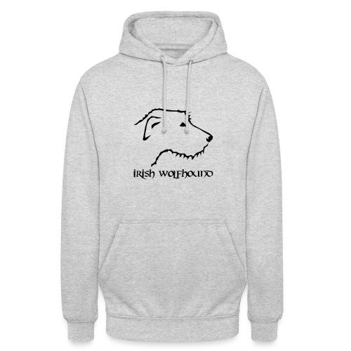Irish Wolfhound - Unisex Hoodie