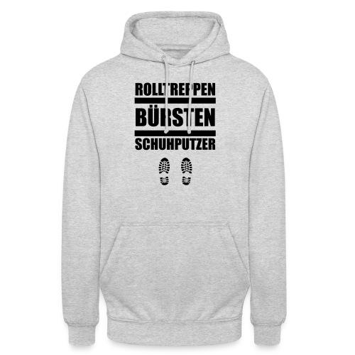 Rolltreppenbürstenschuhputzer - Unisex Hoodie