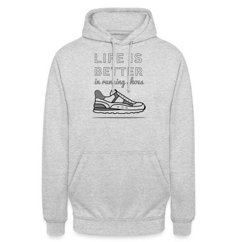 Running Shoes - Unisex Hoodie
