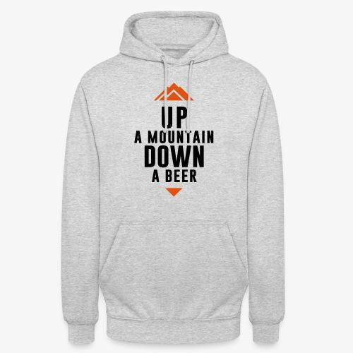 UP Mountain Down Beer - Sweat-shirt à capuche unisexe
