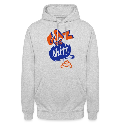 GAZ de Shit - Sweat-shirt à capuche unisexe