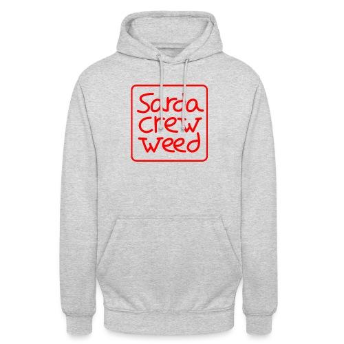 Logo Sarda Crew - Sudadera con capucha unisex