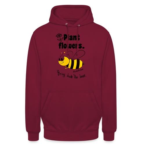 Bees8-1 Bringt die Bienen zurück! | Bookrebels - Unisex Hoodie