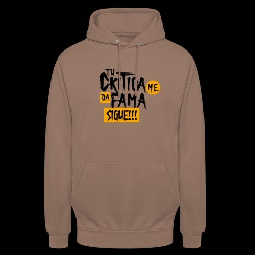 CRITICA - Sudadera con capucha unisex