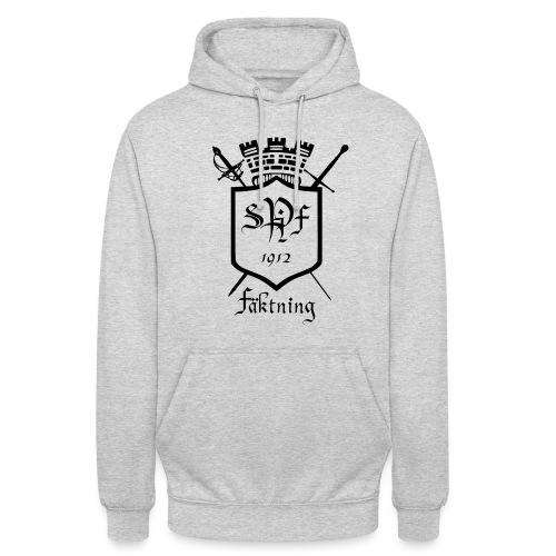 spiff logo black - Luvtröja unisex