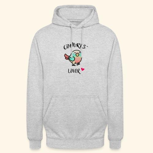 Conures' Lover: Toc - Sweat-shirt à capuche unisexe