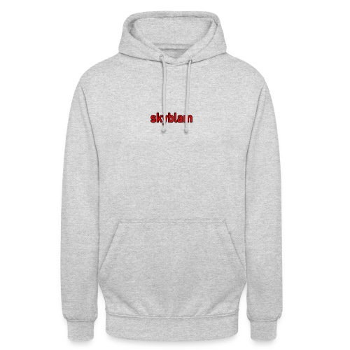 skyblam - Sweat-shirt à capuche unisexe