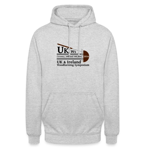 SMALL-UKIWS-Logo - Unisex Hoodie