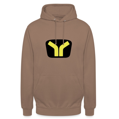 Yugo logo colored design - Unisex Hoodie