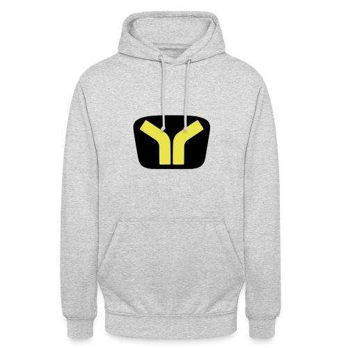 Yugo logo colored design - Unisex Hoodie