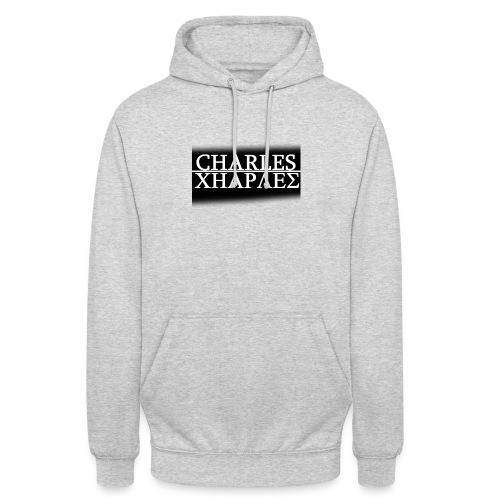 CHARLES CHARLES BLACK AND WHITE - Unisex Hoodie