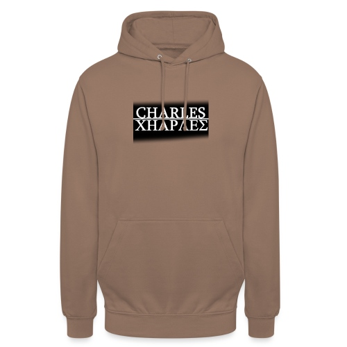 CHARLES CHARLES BLACK AND WHITE - Unisex Hoodie