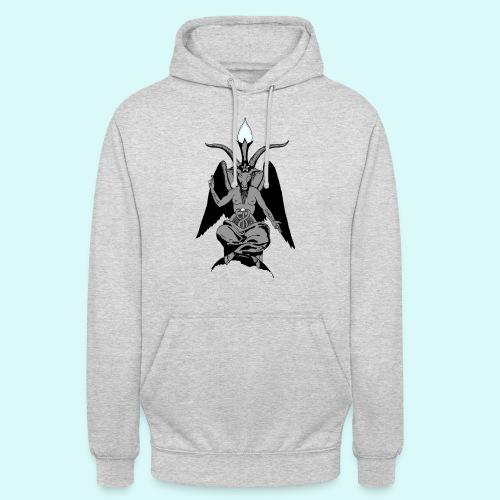 baphomet - Sweat-shirt à capuche unisexe