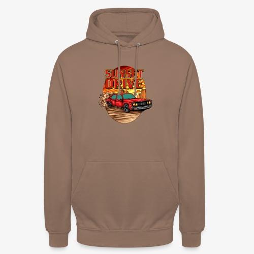 Sunset Drive - Sweat-shirt à capuche unisexe