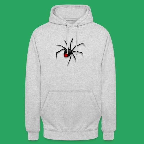 spider logo fantasy - Felpa con cappuccio unisex
