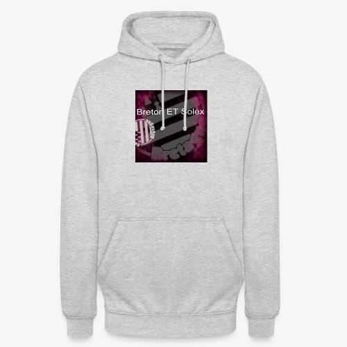 breton - Sweat-shirt à capuche unisexe