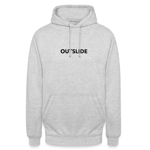 EXTÉRIEUR - Less is more - Sweat-shirt à capuche unisexe
