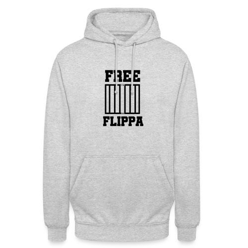 Free Flippa Zwart - Hoodie unisex