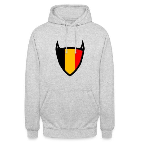 Diable du bouclier national belge - Sweat-shirt à capuche unisexe