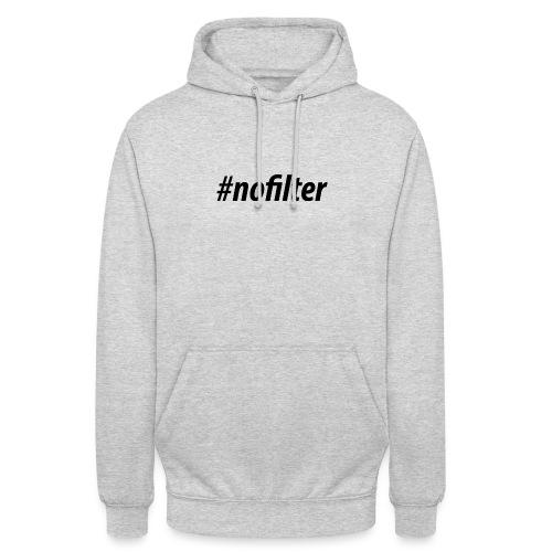 #nofiler - Hoodie unisex