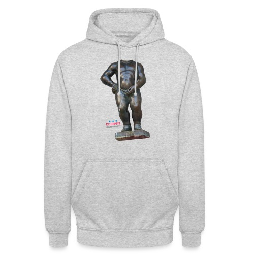 mannekenpis Real Big ♀♂ | 撒尿小童 - Sweat-shirt à capuche unisexe