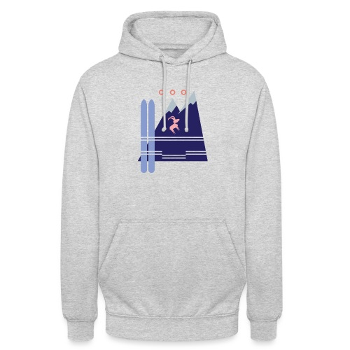 Shirt Motiv Mellau Damüls - Unisex Hoodie