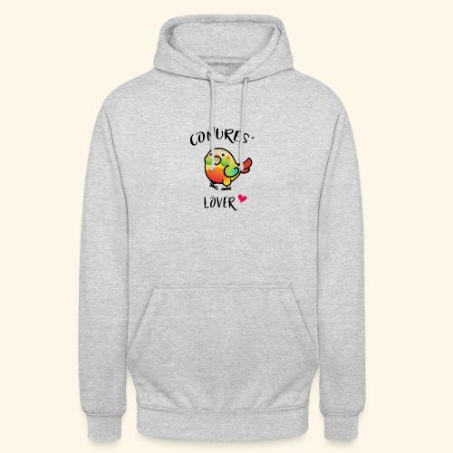 Conures' Lover: Ananas - Sweat-shirt à capuche unisexe