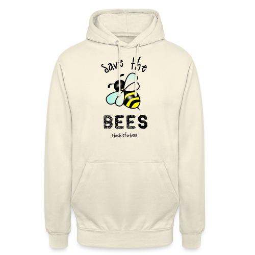 Bees4-1 save the bees   Bookrebels - Unisex Hoodie