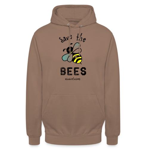 Bees4-1 save the bees | Bookrebels - Unisex Hoodie
