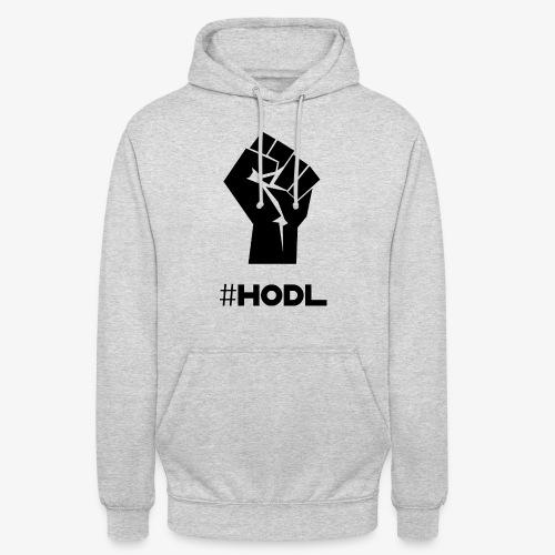 HODL-fist-b - Unisex Hoodie