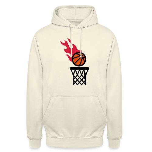 fire basketball - Unisex Hoodie