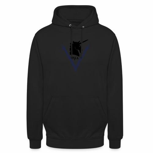 Brand RLL Color - Felpa con cappuccio unisex