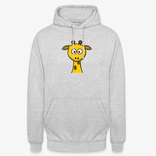 giraffe - Felpa con cappuccio unisex