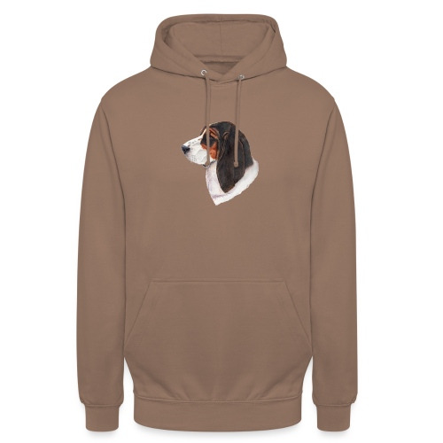bassethound color - Hættetrøje unisex