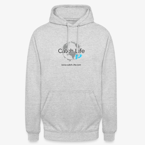 Catch Life Logo - Unisex Hoodie