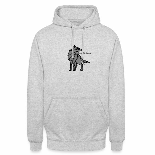loup l'hiver vient - Sweat-shirt à capuche unisexe