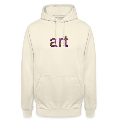 art - Sweat-shirt à capuche unisexe