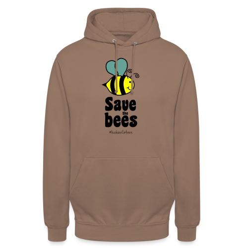 Bees9-1 save the bees | Bienen Blumen Schützen - Unisex Hoodie